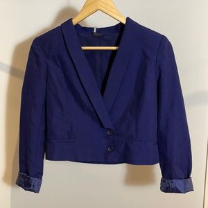 Urban Outfitters Sparkle & Fade Cropped Blazer